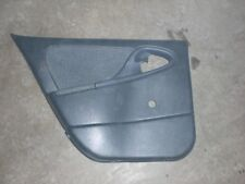 1995-2002 CHEVY CAVALIER LEFT REAR DOOR PANEL GREY W/OUT POWER LOCK SWITCH