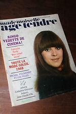Mademoiselle Age tendre - N°42 - Avril 1968 - Ringo Hardy Polnareff Johnny Adamo