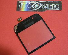 VETRO +TOUCH SCREEN per NOKIA E-6 E6 Nero DISPLAY LCD VETRINO Nuovo