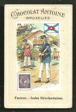 Postman Dutch East Indies Indonesia stamp ca 1899