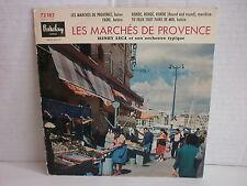 HENRY LECA Les marchés de Provence ...