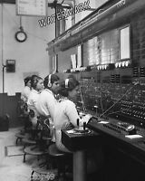 Photograph Old Time Vintage Telephone Switchboard  Operators  Year 1921   8x10