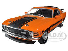 1970 FORD MUSTANG MACH 1 428 TWISTER SPECIAL ORANGE 1/24 M2 MACHINES 40300-36A