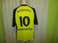 Borussia Dortmund gool.de Deutscher Meister Trikot 2001/02 + Nr.10 Rosicky Gr.L