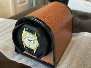 NEW Orbita Spart 1 Mini Brown Single Automatic Watch Winder - W05020