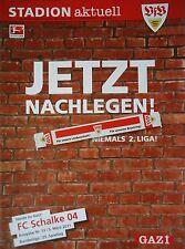 Programm 2010/11 VfB Stuttgart - FC Schalke 04