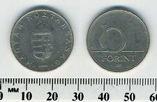 Hungary 1994 - 10 Forint Copper-Nickel Coin - Saint Stephan's Crown