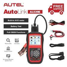 Autel AL539B OBD2 Code Reader 12V Battery Test AVOmeter AL319 OBD2 Engine Check