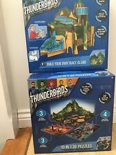 Thunderbirds Puzzle 10 in 1 3D e Costruisci il tuo set di Tracy Island