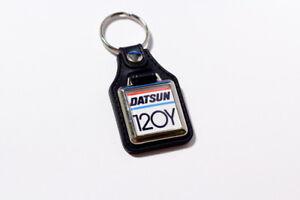 Datsun / Nissan Sunny 120Y B210 Leatherette classic retro car keyring keychain