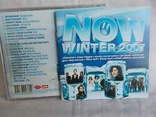NOW WINTER 2007 - OZ 22 TRK V/A CD - JET-MISSY HIGGINS-SILVERCHAIR - LIKE NEW