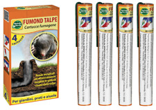 FUMOND TALPE 4 FUMOGENI SCACCIA TALPA FUMOGENO REPELLENTE TALPICIDA SCACCIATALPE
