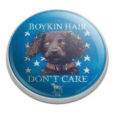 Boykin Hair Don't Care Dog Golfing Premium Metal Golf Ball Marker
