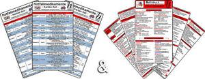 Notfallmedikamente + Notfälle kompakt (2in1 Karten-Set)