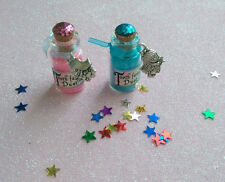 Tooth Fairy Dust / Sparkling Magic/ Fairy Dust Bottle with Free Cute Fairy charm
