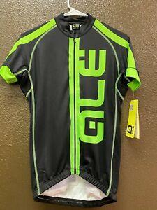 Alé Cycling Short Sleeve Jersey Green/Black - Men's XS