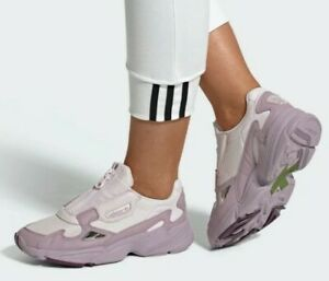 New Adidas Original Womens FALCON ZIP ORCHID TINT ( EF1953 ) US W , size : 6.5