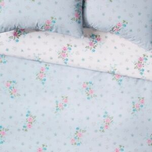 Simply Shabby Chic From Target - King Duvet Cover Lily Rose Reversible Floral