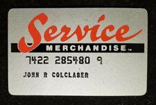 Service Merchandise credit cardâ—‡free shipâ—‡cc1826