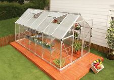 Palram 6' x 14' Nature Series Hybrid Hobby Greenhouse - Silver (model HG5514)