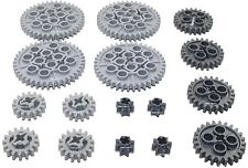 LEGO 16pc Technic gear SET lot Mindstorms functions motor robot 8,16,24,40 Tooth
