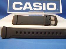Casio watch band DB-37 16mm Mens Black Watchband.Original Two-Piece Resin Strap