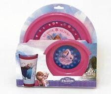 Plate, Bowl and Beaker - Elsa, Anna & Olaf New Disney Frozen Meal Time Set