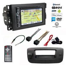 GPS Navigation USB Stereo+Backup Camera+Chevy Silverado/Sierra Radio Dash Kit