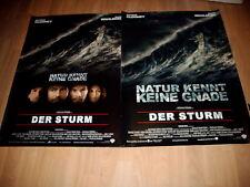 2 Motive A1 gerollt:   Der Sturm  GEORGE CLOONEY+MARK WAHLBERG