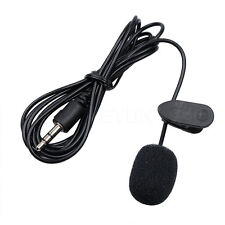 Mini Clip-On Lapel Mic Microphone 3.5mm Plug for MP4 Cellphone Tablet Laptop PC