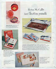 Vintage Betsy McCall's Christmas Gifts,Hatbox/Chocolate Cards/Biggest Paper Doll