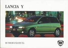 LANCIA   Y   Ypsilon   Betriebsanleitung  1995  Bordbuch     840    Handbuch  BA
