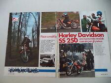 - PROVA MOTOCICLISMO 1976 MOTO HARLEY DAVIDSON SS 250