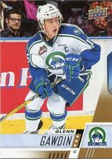 17/18 UPPER DECK CHL #122 GLENN GAWDIN SWIFT CURRENT BRONCOS *48658
