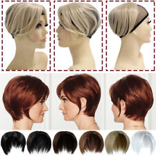 Women Topper Hairpiece as Human Hair Topper with Bangs Extension For Thin Hair