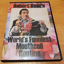 World's Funniest Mouthcoil Routine by Robert Baxt - Magic Trick