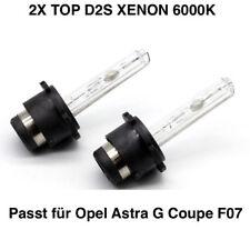 2x d2s 6000k 35w XENON LAMPADE DI RICAMBIO TÜV LIBERO OPEL ASTRA G COUPE f07