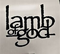 Lamb of God Decal Guitar CD Laptop Window Skate Board Sticker