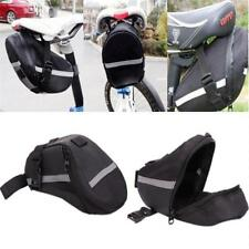 Bike Bicycle Saddle Bag Pouch Tail Rear Storage Seat Bags Panniers Waterproof LD