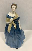 "Royal Doulton Adrienne Porcelain Figurine  8"" Tall"