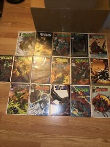 Spawn Comic Book Lot Of 16