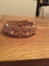 Gold Diamante Crystal Braclet. New