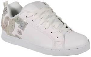 DC Women's Court Graffik Shoe - White / Rainbow - New