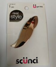 Scunci Real Style Stylish Hair Barrette