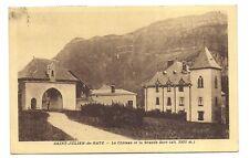 saint-julien-de-ratz  le château et la grande sure
