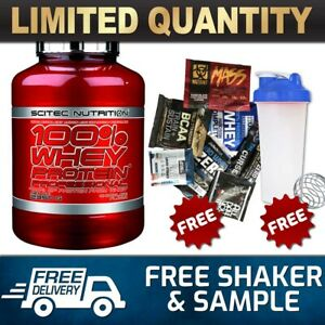 SCITEC NUTRITION 100% WHEY PROTEIN PROFESSIONAL 5LB //WPI WPC MUSCLE @
