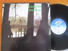ORIGINAL VINYL LP CLUSTER SOWIESOSO 1976 1ST PRESS ELECTRONIC NEU KRAFTWERK EX/M
