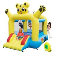 Inflatable Bounce Bouncy House Castle Jumper Slide Kids Jump Bouncer w/ Blower