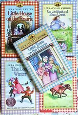 Lot of 5 Little House by Laura Ingalls Wilder Good Paperback