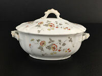 antique Anthony Shaw & Co. semi-porcelain covered sauce dish EDEN 1890's 1900's